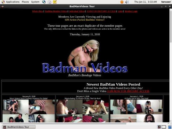 BadMan Videos Discount Link Code