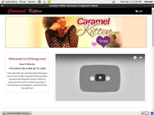 Caramel Kitten Show
