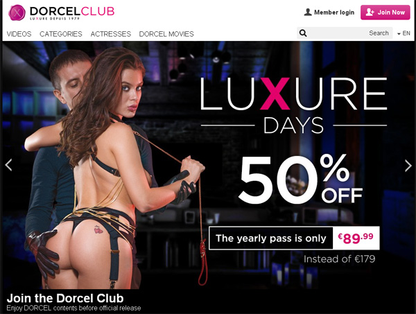 Dorcelclub Discount Offers