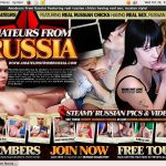 Free Amateursfromrussia.com Coupon