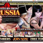 Free Amateursfromrussia.com Coupon