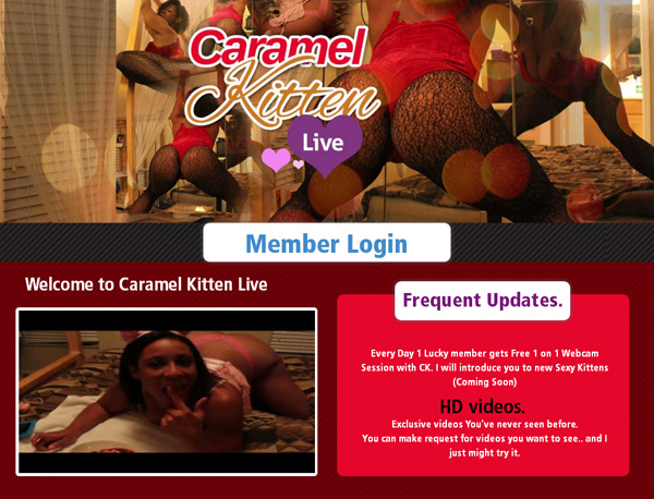 Free Caramelkittenlive Account Logins