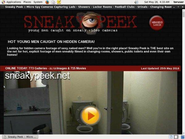 Free Sneakypeek Preview