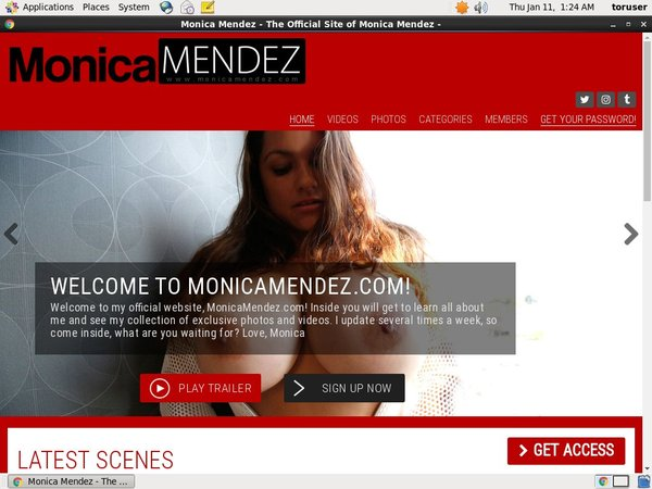 Monicamendez.com Hacked Account