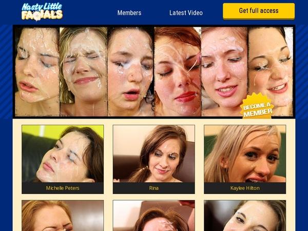 Premium Accounts Nasty Little Facials
