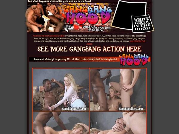 Sign Up For Gangbanghood