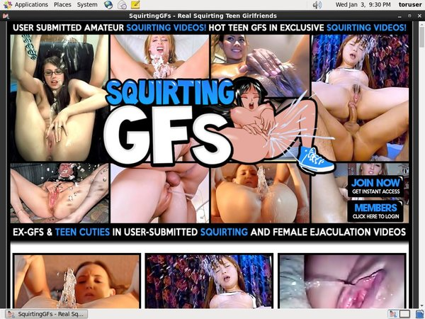 Special Squirtinggfs.com Discount