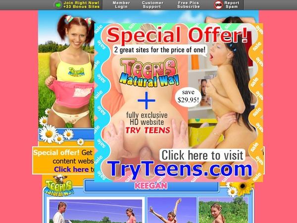 Teens Natural Way Checkout Form