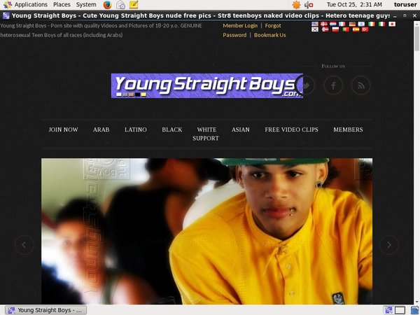 Youngstraightboys.com Trial Membership Deal