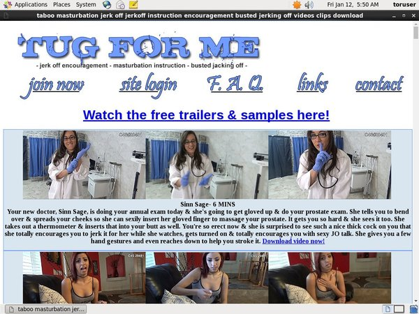 Get A Free Tugforme.com Account