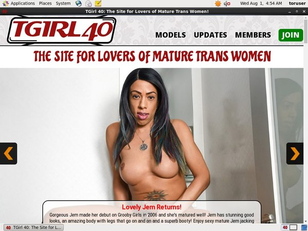 Login TGirl 40 Free Trial