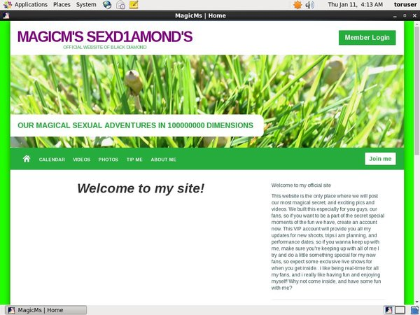 MagicM's SexD1amond's Wnu.com Page