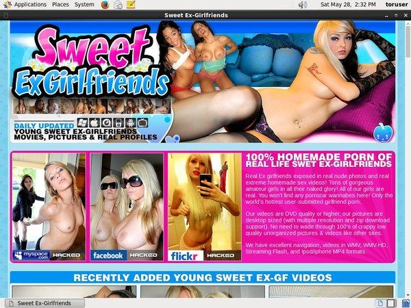 Sweetexgirlfriends.com Member Trial
