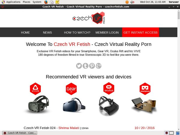 Try Czech VR Fetish Free