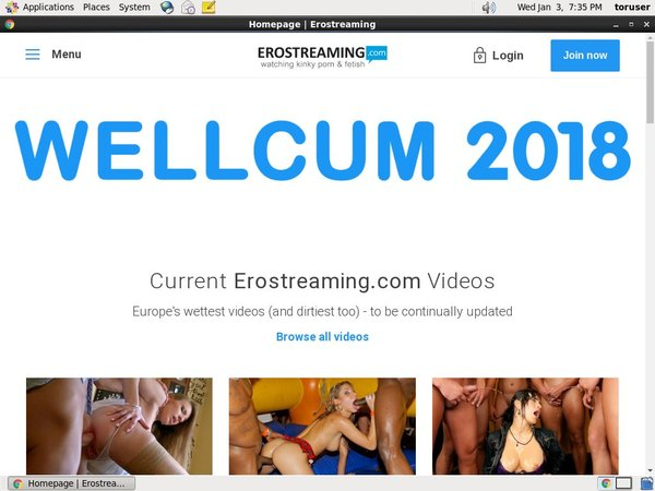 Erostreaming Account Online