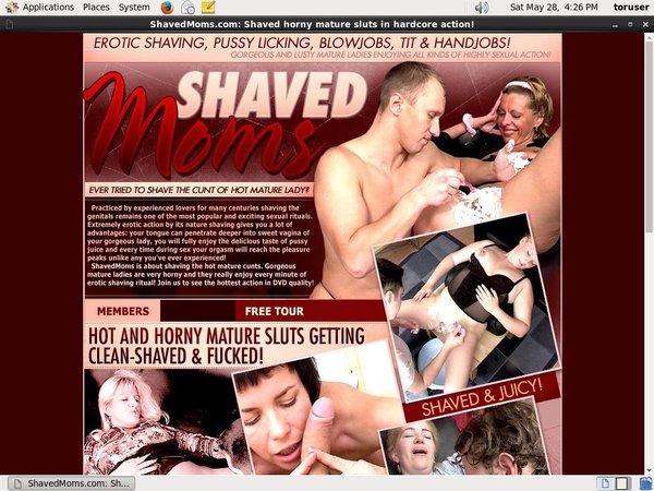 Shaved Moms Free Premium Account
