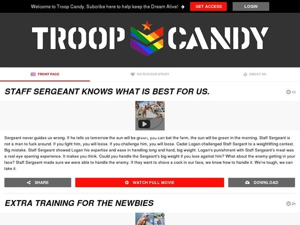 Troopcandy.com Free Scene