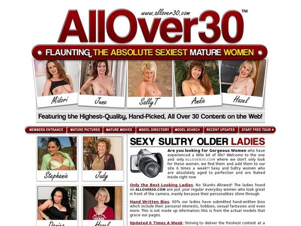 Allover30.com Free Trial Acc