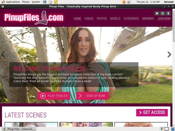 Pinupfiles.com Premium Account Login