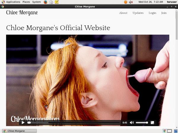 Chloe Morgane Home Page
