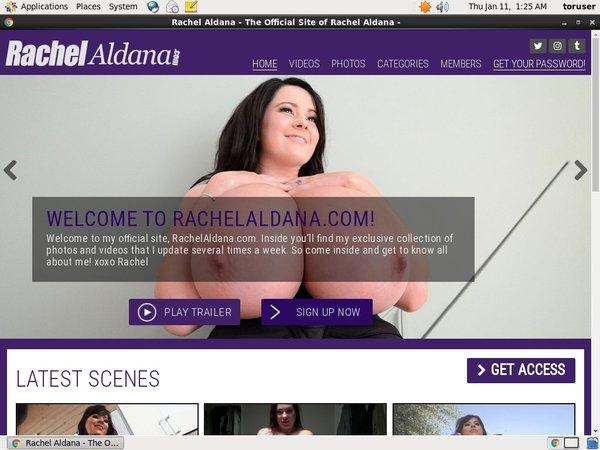 Rachel Aldana Discount Trial