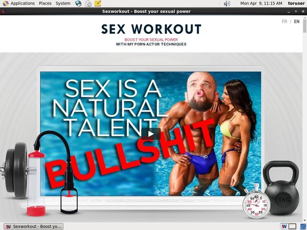 Sexworkout Paypal Offer