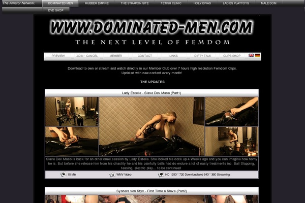Discount Dominated-men.com Trial Link