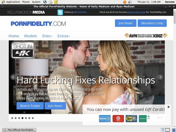 Fidelity Porn Discount Code