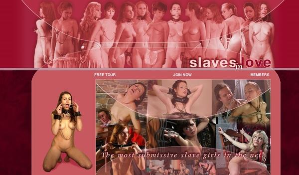 Slaves In Love Signup Form