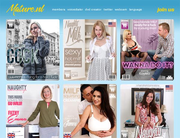 Mature.nl Films