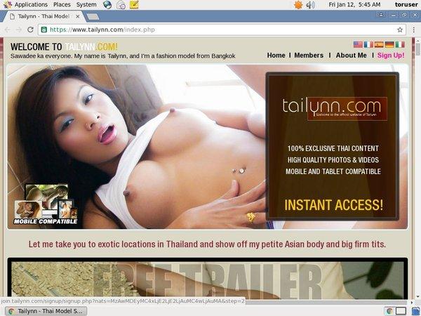 Membership To Tailynn.com