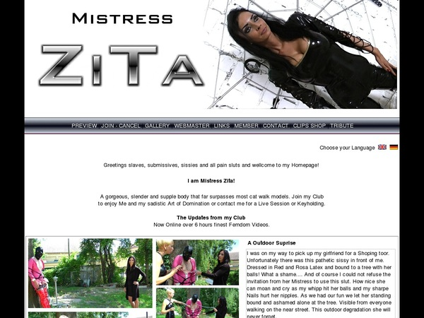 Mistresszita Free Trials