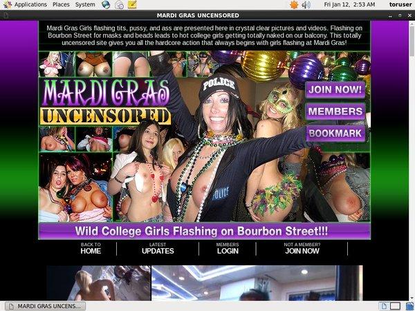 Discount Mardi Gras Uncensored