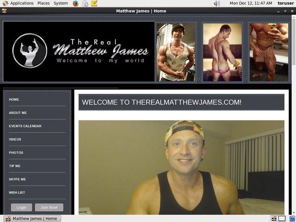 Matthew James With Amex