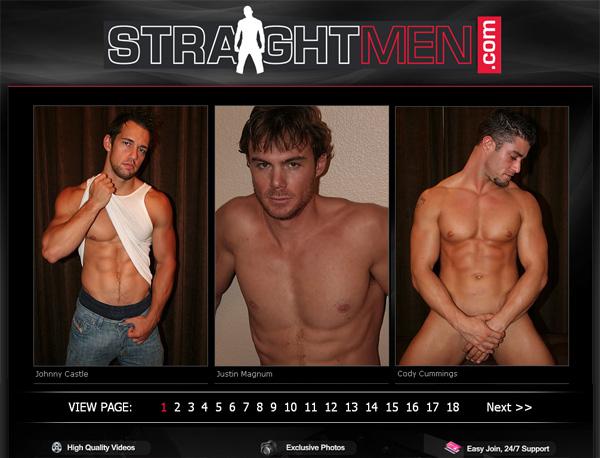 Straight Men Cams