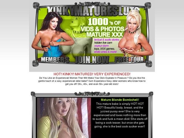 Kinky Mature Sluts $1 Trial