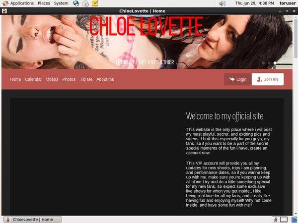 Chloe Lovette Porn Stars