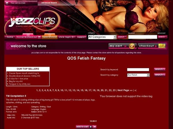 Yezzclips.com 사용자 이름