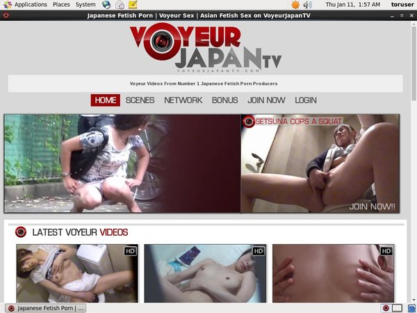 Voyeur Japan TV Account New