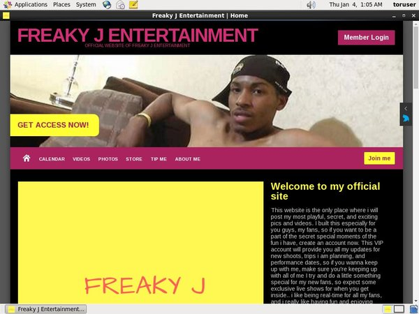 Freakyjentertainment.modelcentro.com Sing Up