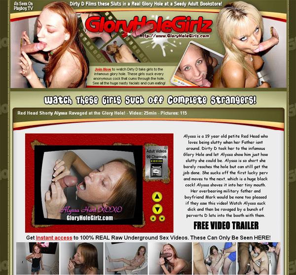 Free Glory Hole Girlz Username
