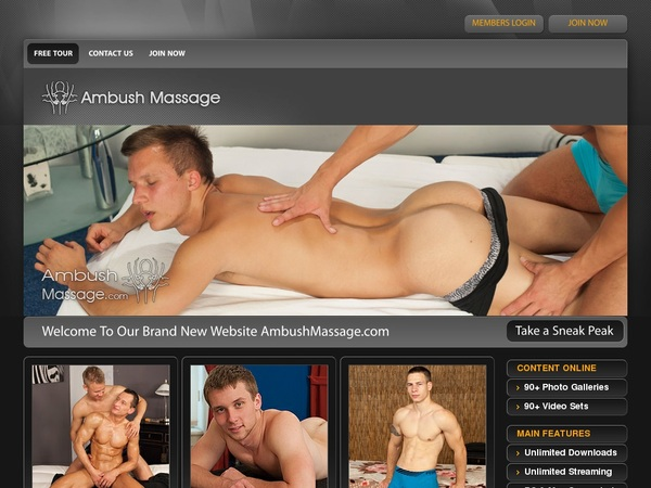 Get Ambush Massage Discount Offer