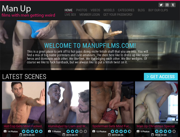 Man Up Films Bonus