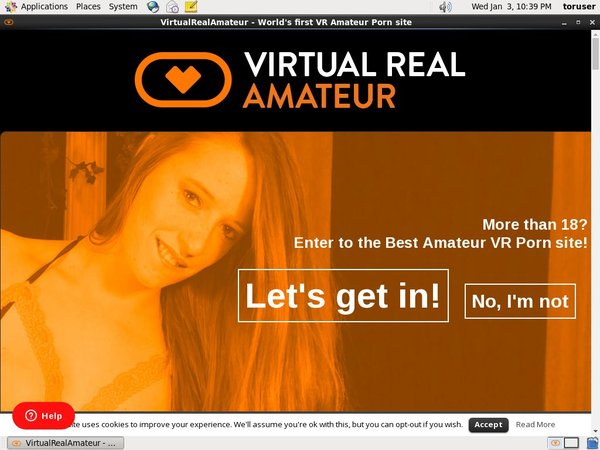 Virtualrealamateurporn.com Account Free